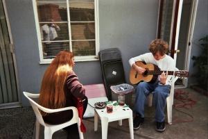 Owen Lea guitars SD patio